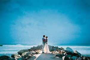 Noosa wedding photographer beach